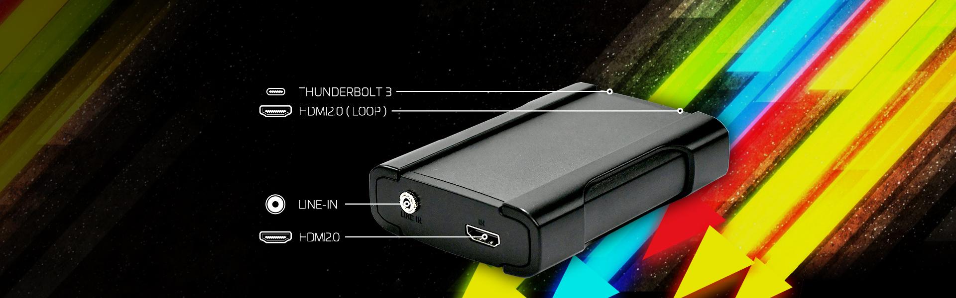 Thunderbolt 4K60 HDR Capture Device