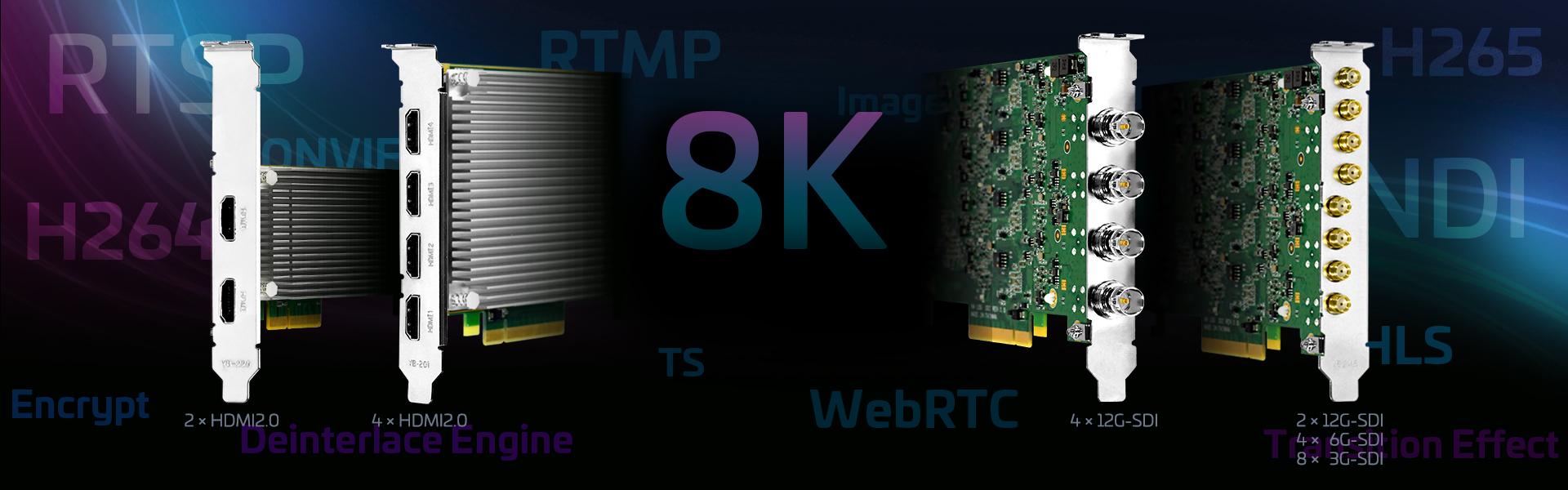 Multiple 4K60 Input Capture Cards